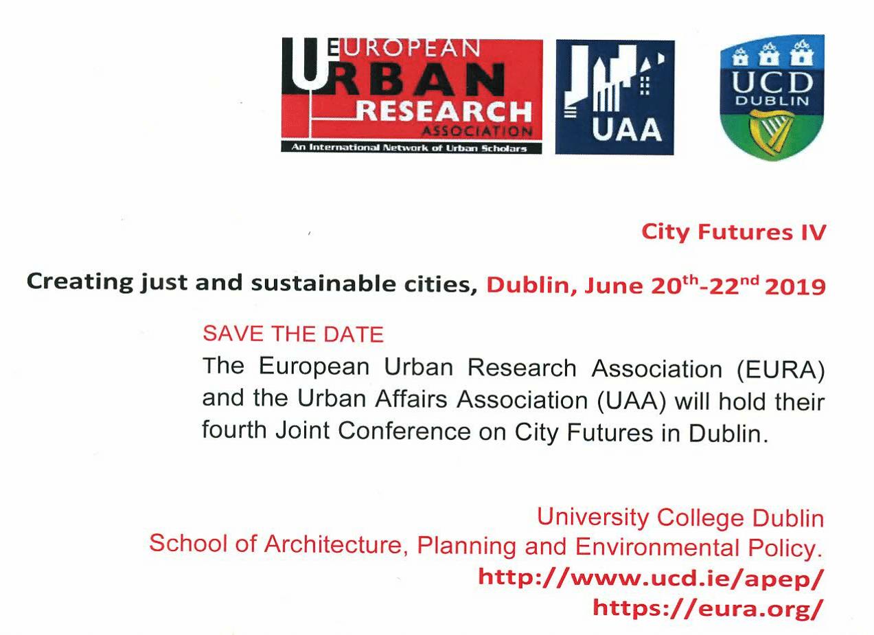 2019 Conference Dublin | EURA